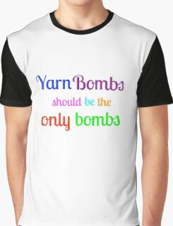Yarn Bombs! Graphic T-Shirt