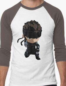 Metal Gear Solid Solid Snake Codec Men's Baseball ¾ T-Shirt