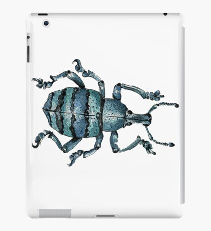 Blue Insect iPad Case/Skin