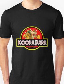 Koopa Park (Jurassic Park) Bowser Mario T-Shirt