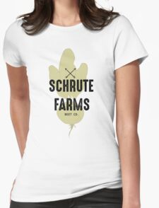Schrute Farms Beet Co.- The Office Womens Fitted T-Shirt