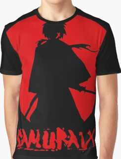 Samurai Silhouette Graphic T-Shirt