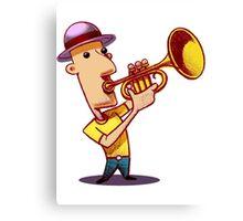 Blow that trumpet! Canvas Print