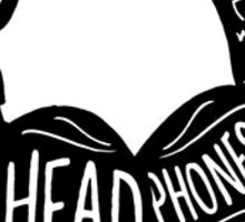 Matt Nathanson-Headphones Sticker