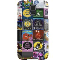We Talk Games Cover Art Stacked Samsung Galaxy Case/Skin