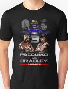 pacquiao vs bradley T-Shirt