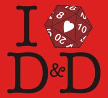 I Heart D&D One Piece - Short Sleeve