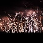 Thunderstorm on the 4th of January 2016 - Free State, South Africa by Qnita