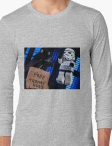 Free Throat Hugs Long Sleeve T-Shirt