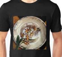 A Brushstroke Of Orchid Genus Unisex T-Shirt