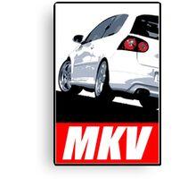 VW Golf MKV Golf 5 GTI Canvas Print