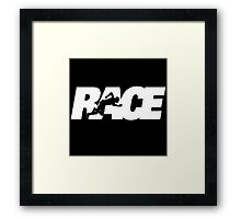 Race The Movie 2016 Framed Print