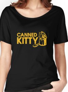 Canned Kitty Awards Black Tee/Poster Women's Relaxed Fit T-Shirt