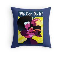 """""""We"""" Can Do it! // Garnet Steven Universe Poster Throw Pillow"""
