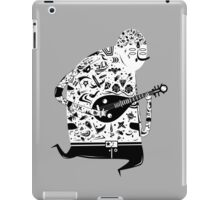 playing pipa iPad Case/Skin