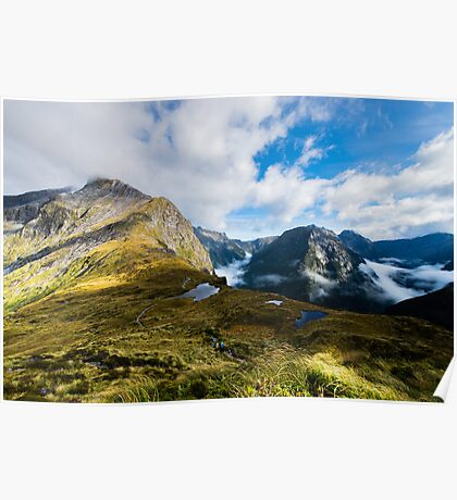 Milford Track - The Mackinnon Pass Poster