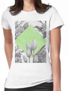 Spring Womens Fitted T-Shirt
