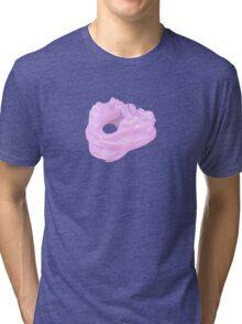 Fractal Bubblegum Tri-blend T-Shirt