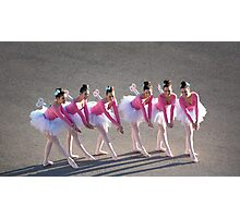 Clockwork Ballerinas Photographic Print