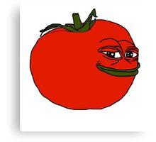 tomato pepe Canvas Print