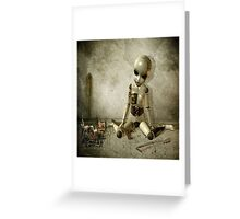 There is Nothing Wrong with Short Legs! Greeting Card