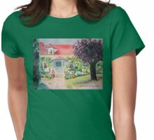 Garden in Giverny, France Womens Fitted T-Shirt