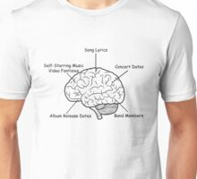 The Mind of a Musician Unisex T-Shirt