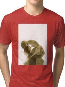 Howl no Ugoku Shiro ; Howl's Moving Castle - Howl & Sophie Tri-blend T-Shirt