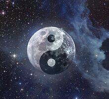 Lunar Yin Yang by Kitty Bitty