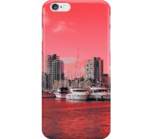 Red Regeneration, Ipswich Waterfront iPhone Case/Skin