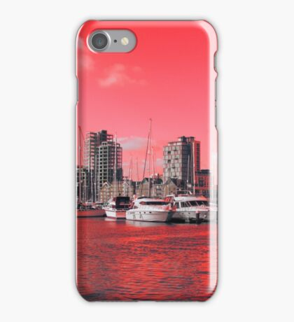 Red Regeneration, Ipswich Waterfront iPhone Case/Skin