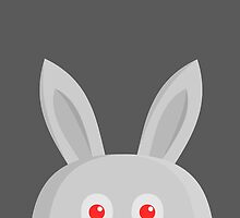 CUTE GREY BUNNY, by Furrphy's by Furrphys