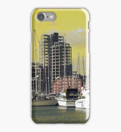 Yellow Regeneration, Ipswich Waterfront iPhone Case/Skin
