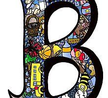 Doodle Letter B by missmann