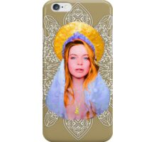 Saint Lindsay Icon Saturated 100 Beige iPhone Case/Skin