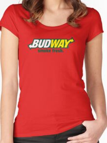 Budway Women's Fitted Scoop T-Shirt