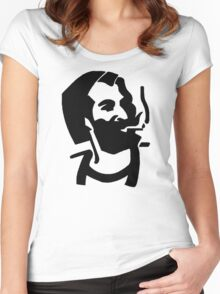 Zig Zag Man Women's Fitted Scoop T-Shirt