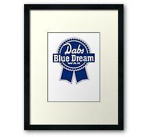 Dabs Blue Dream Framed Print