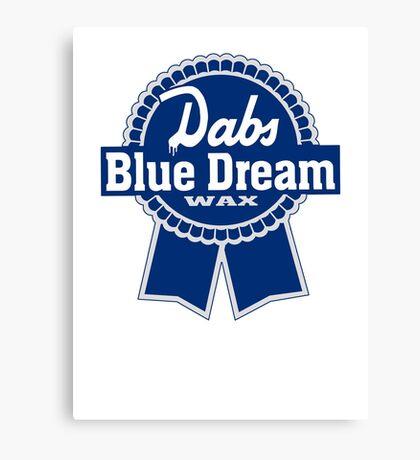 Dabs Blue Dream Canvas Print