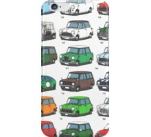 Mini time line iPhone Case/Skin