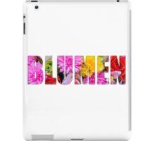 blumen iPad Case/Skin