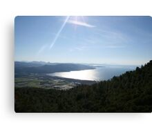 Spectacular Aegean Coast Canvas Print