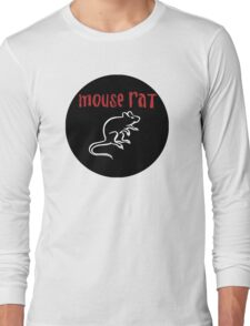 Mouse Rat Logo Long Sleeve T-Shirt