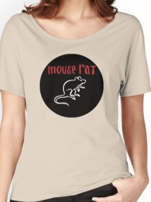 Mouse Rat Logo Women's Relaxed Fit T-Shirt
