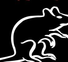 Mouse Rat Logo Sticker
