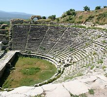 The Theater, Aphrodisias by taiche