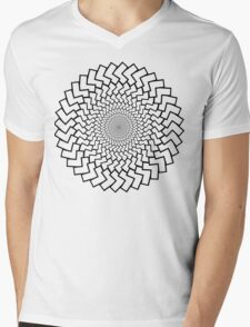 Spirally Arrows! Mens V-Neck T-Shirt