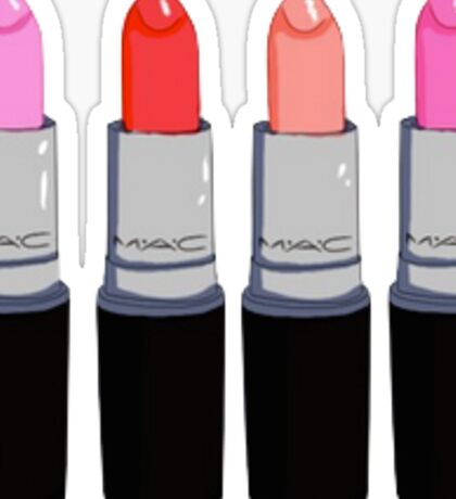 MAC Lipsticks Sticker