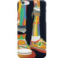 Rainbow Kicks iPhone Case/Skin