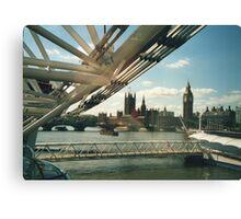 Simply A London Landscape Canvas Print